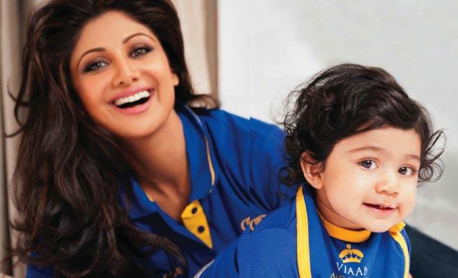 shilpa and baby vivan